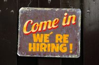 Come In We're Hiring Job Posting Open Position Sign Missouri Court Reporters
